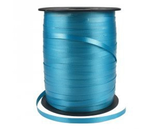FS Crimped Ribbon 5mm x 500Y Spool Turquoise