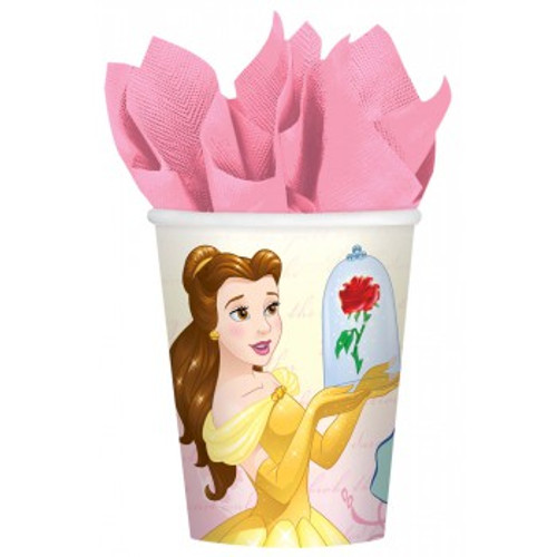 Beauty & The Beast Cups Paper 266ml