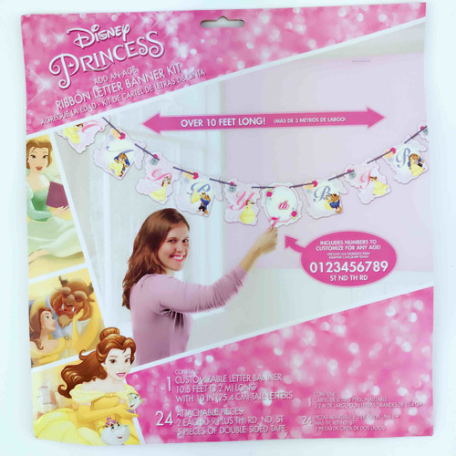 Beauty & The Beast Banner Add an Age Rib