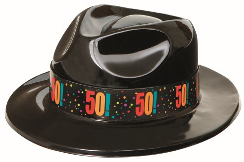 B/DAY CHEER GANGSTER HAT - 50