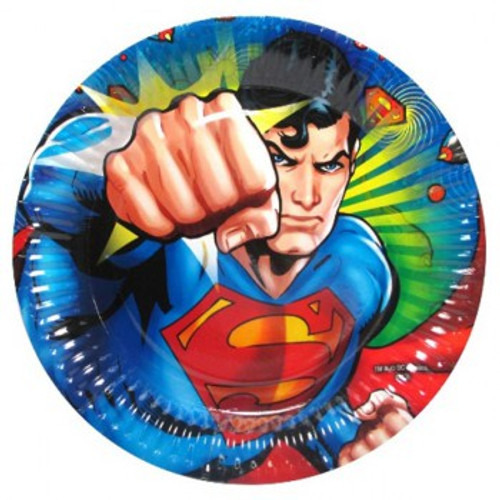Superman Paper Plates