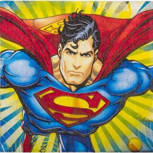 Superman Luncheon Napkins