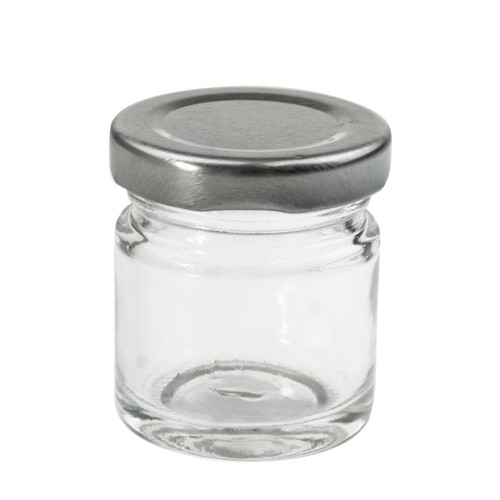 MINI ROUND GLASS JAR 40ml