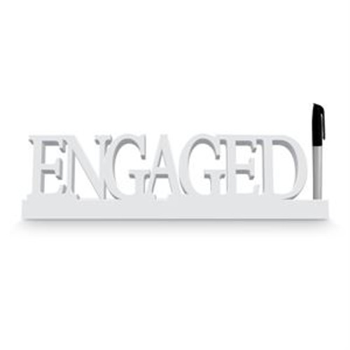 ENGAGED WHITE SIGNATURE BLOCK