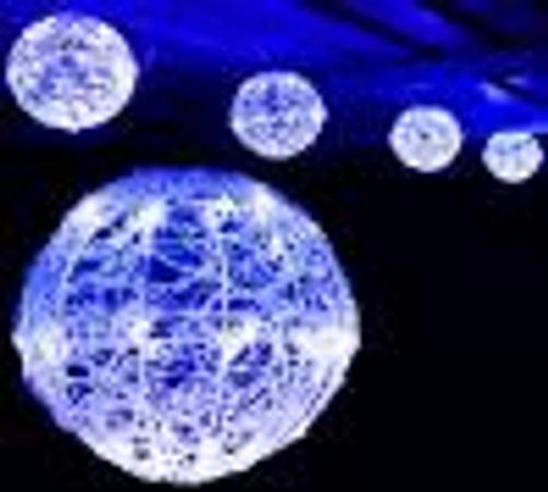 Custom Lighting - Ball - 6pc 180 LED 20cm - White