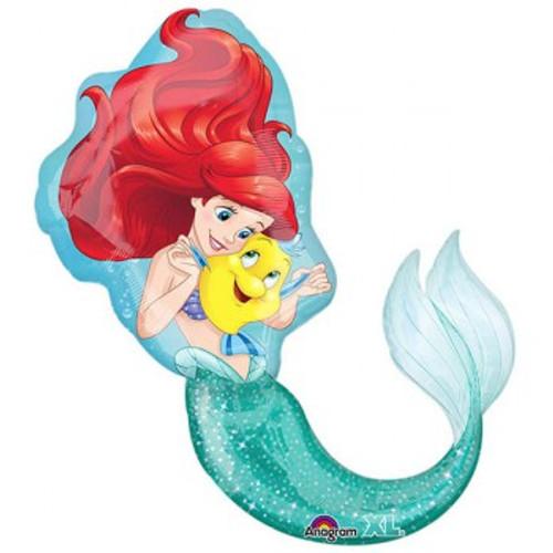 Shape Ariel Little Mermaid & Flounder