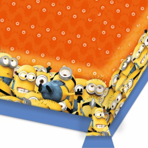 Minions Tablecover Plastic