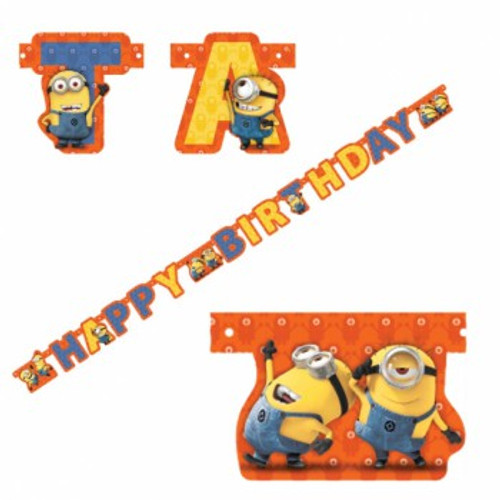 Minions Jointed Banner