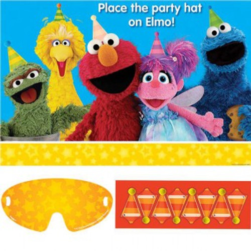 Sesame Street Party Game - Place the Hat