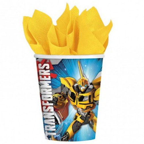 Transformers Paper Cups 266ml