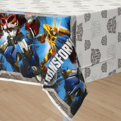 Transformers Table Cover Plastic