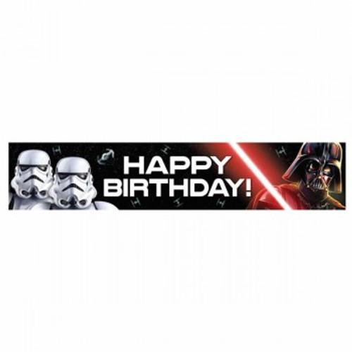 Star Wars Classic Banner Happy Birthday