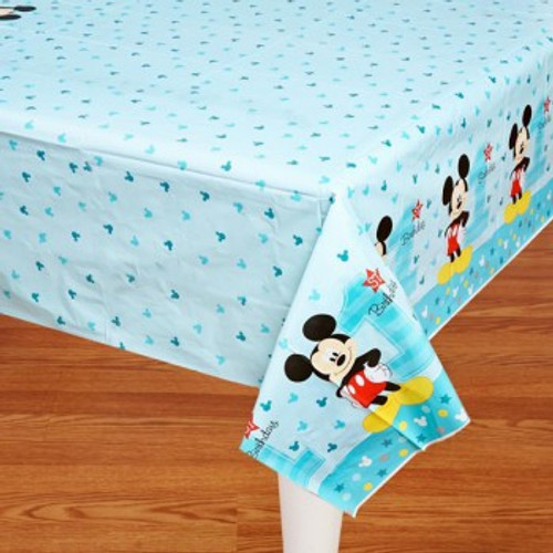 Mickey 1st Birthday Tablecover Fun To Be One