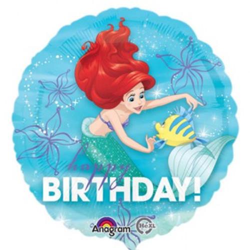 45cm Ariel Happy Birthday Dream Big
