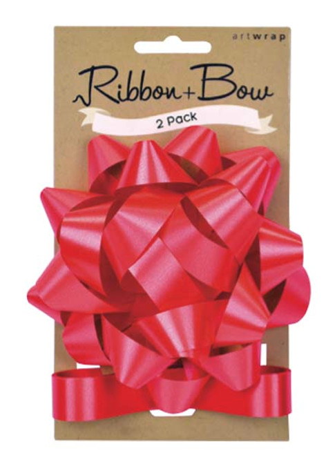 Ribb & Bow Star Red