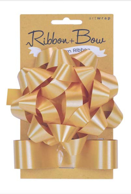 Ribb & Bow Star Gold