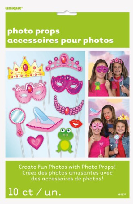 10 PHOTO PROPS - PRINCESS