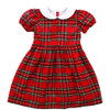 Noelle Dress Royal Tartan Dress