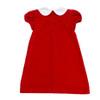 Penny Dress Royal Red Velveteen