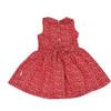 Cherries Cherry Print Dress Red