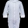 Parker Zipper Pajama Blue Snowman
