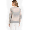 Crew Neck Blush Sweater w/ Elbow Patches