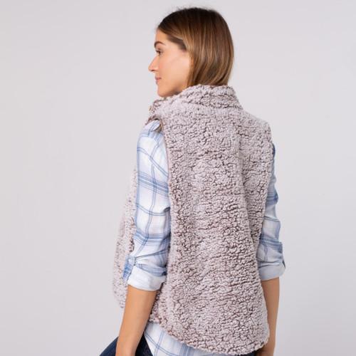 Park City Reversible Chestnut Vest