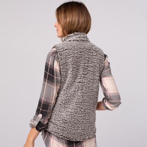 Park City Reversible Roasted Olive Vest