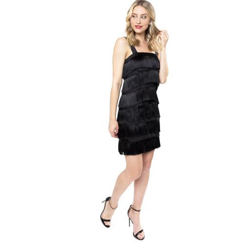 Peppa Bow Tie Black Dress