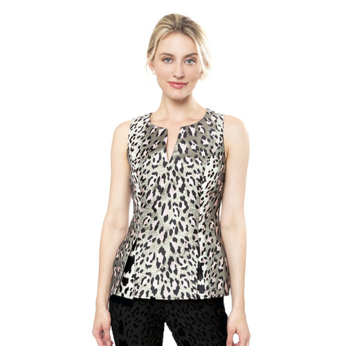 Sloane Sleeveless Leopard Top