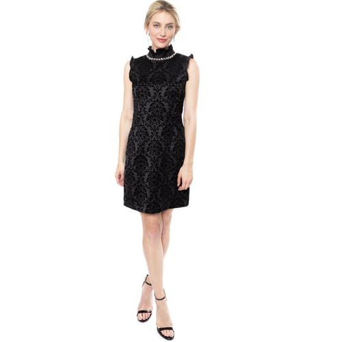 Bow Tie Black Mya Dress