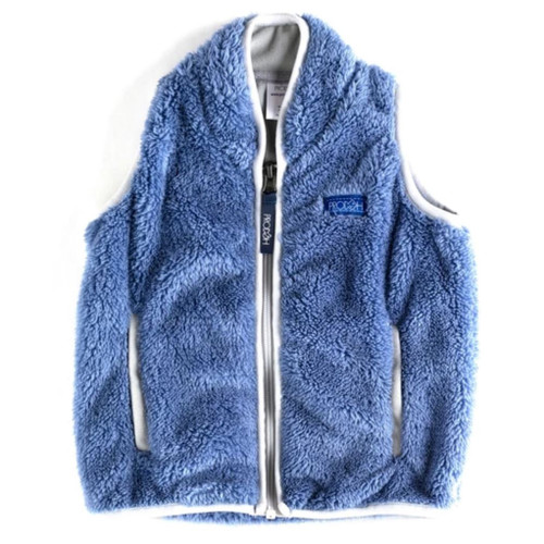 Colony Blue Sherpa Vest