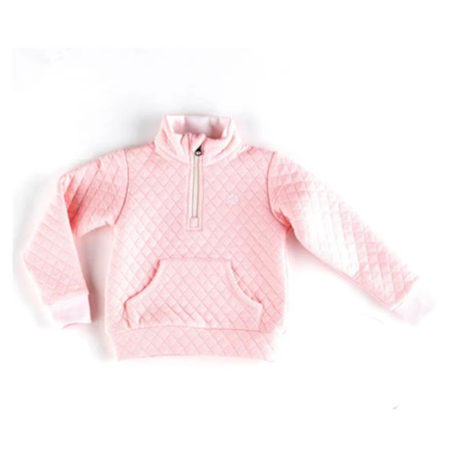 Almond Blossom Quilted Quarter Zip