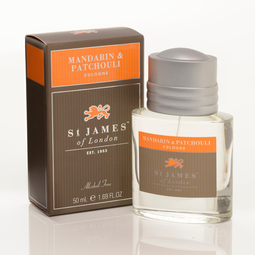 Mandarin & Patchouli Cologne 50ml- Alcohol Free