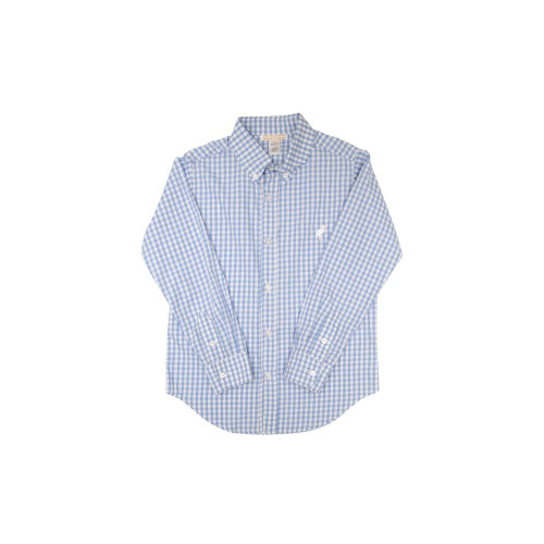Deans List Dress Shirt Sir Proper Signature Plaid Park City Periwinkle