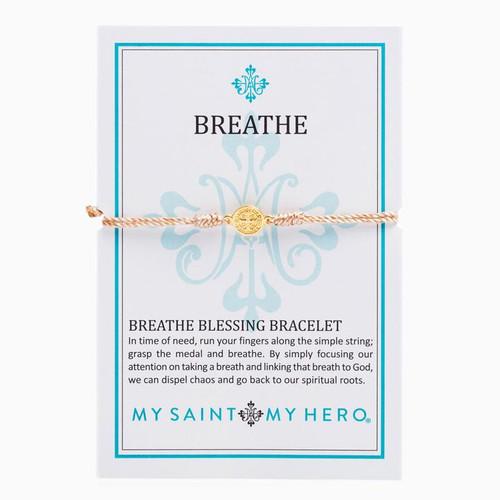 Breathe Blessing Bracelet - Metallic Copper/Gold