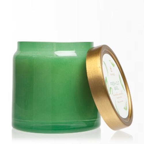 Fresh-Cut Basil Glass Jar Candle, 16.0 oz