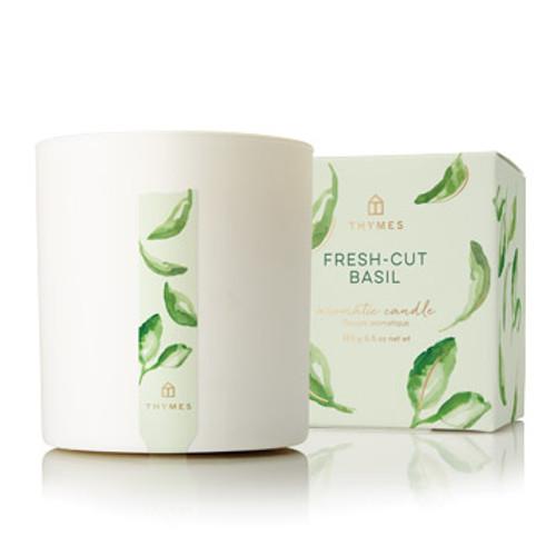 Fresh-Cut Basil Poured Candle, 8.0 oz