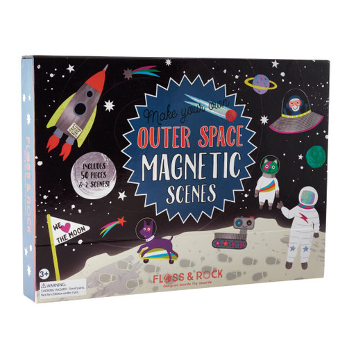 Magnetic Space Play Set