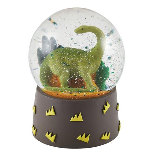Mini Shatterproof Dino Snow-globe