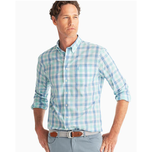 Humphrey Hangin' Out Button Down Shirt- DEEP WATER