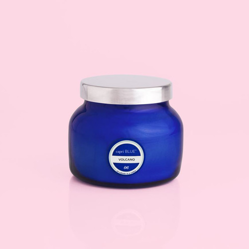 Volcano Blue Petite Signature Jar Candle, 8 oz
