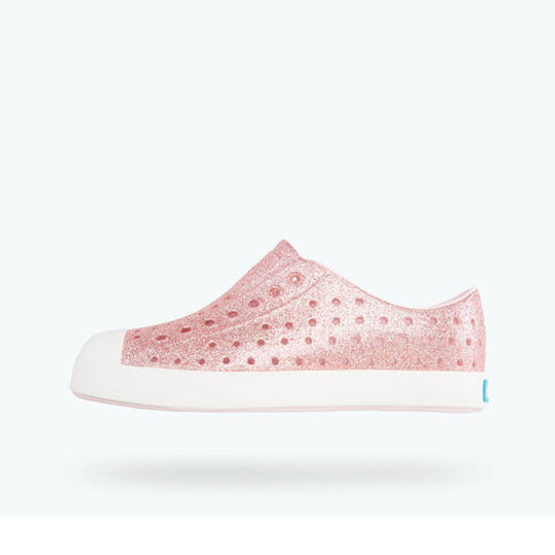 Jefferson Child bling -Milk Pink bling/shell white