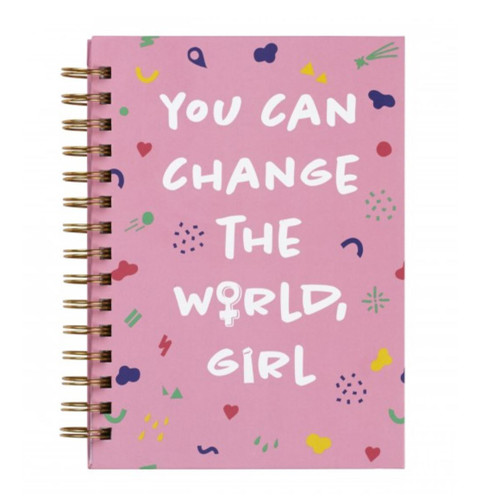 You Can Change the World Journal- medium