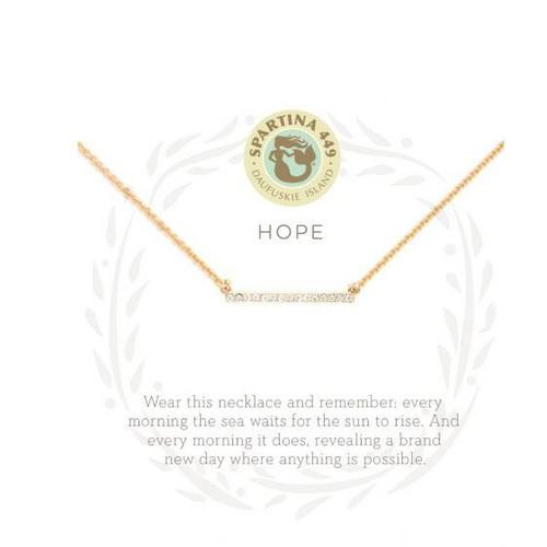 """Sea La Vie Necklace 18"""" Hope/Horizon"""