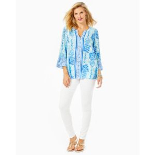 Keona Tunic Out of the Blue Engineered Tunic