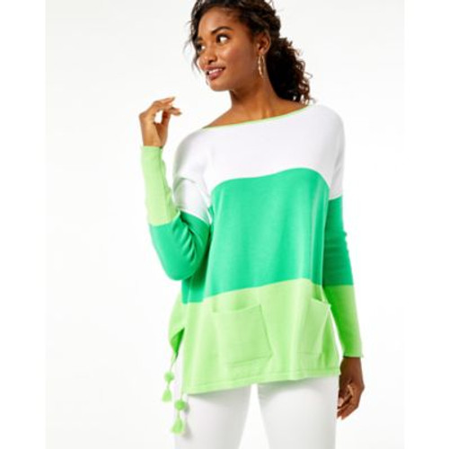 Westwood Coolmax Sweater Myrtle Green Tri Color Block