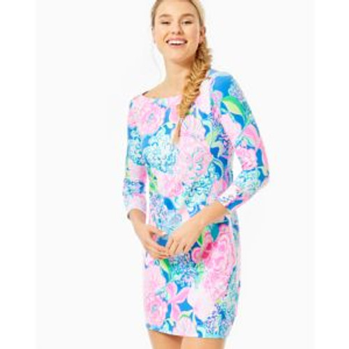 UPF 50+ Sophie Dress- Multi Peony for your Thoughts