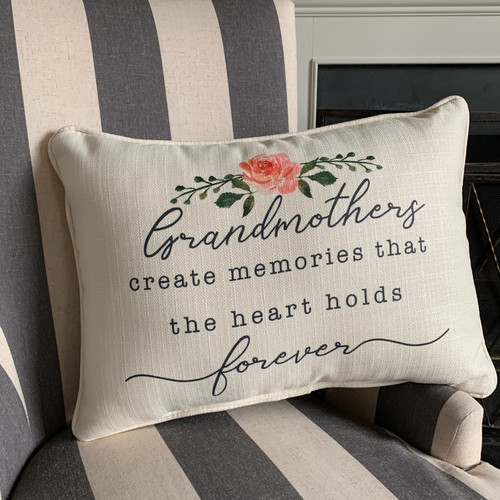Grandmothers Forever Pillow