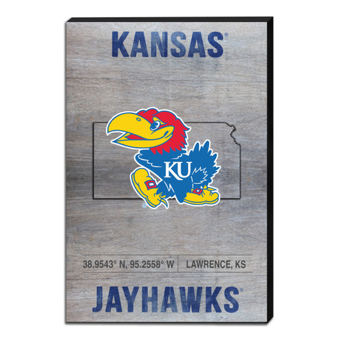 Kansas- Canvas State Coordinates -